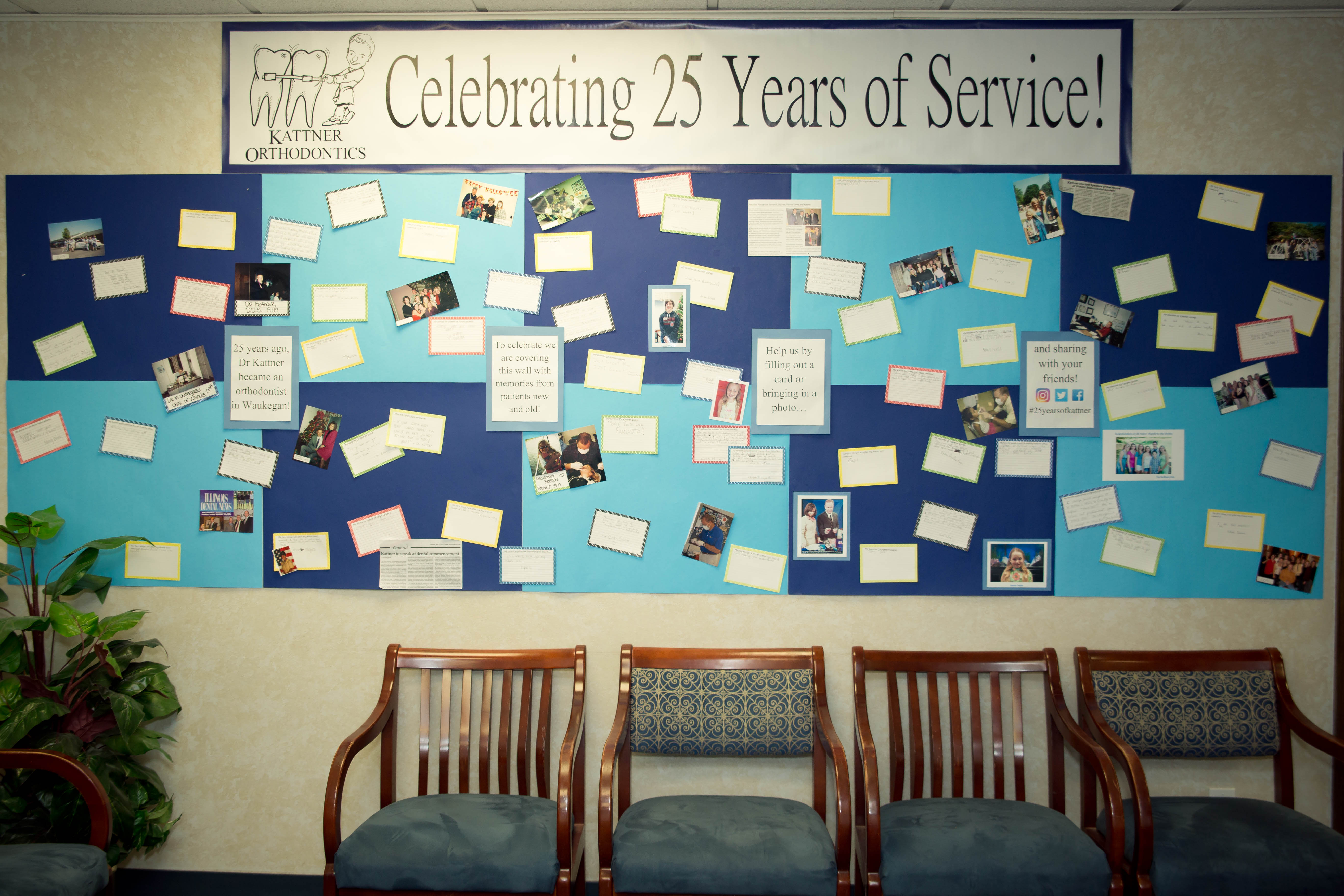 This is the image for the news article titled Kattner Orthodontics Celebrates 25 Years As Waukegan's Top Orthodontist
